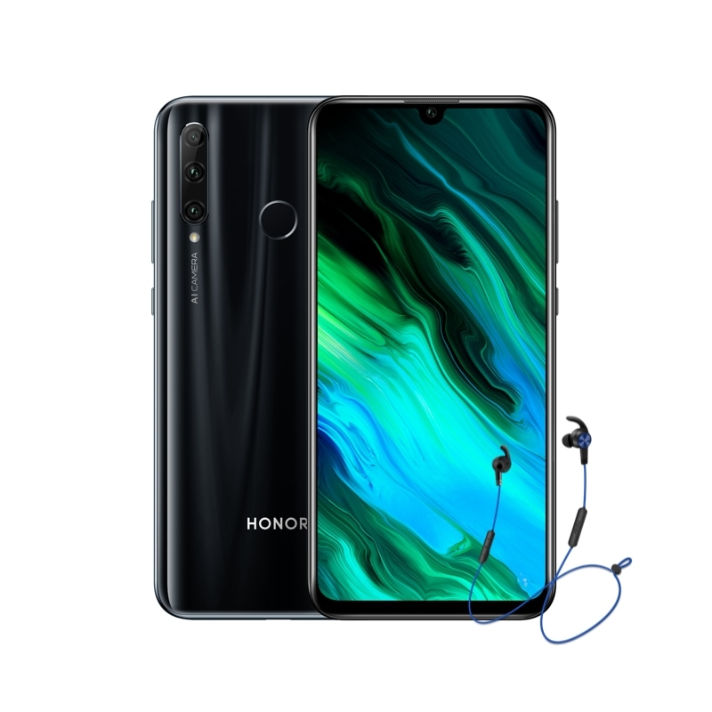HONOR 20E Midnight Black 4+64GB