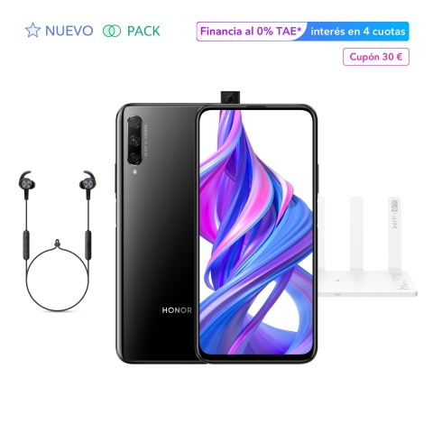 HONOR 9X Pro 6GB+256GB Midnight Black