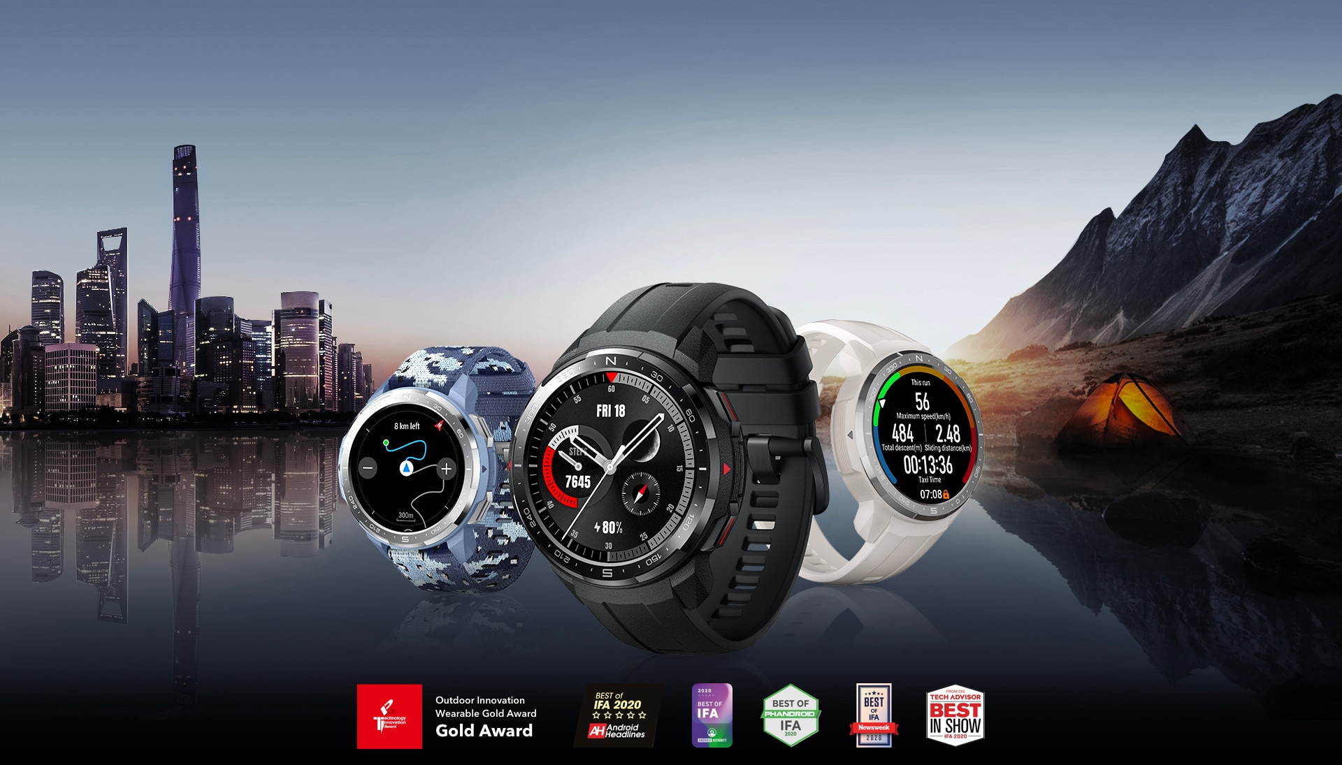 HONOR Watch GS Pro Montre GPS - Test & Avis - Mon GPS Avis.fr