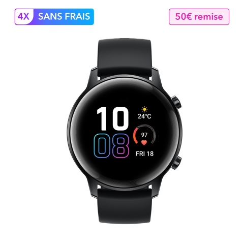 HONOR MagicWatch 2 42mm Charcoal Black