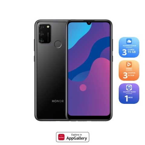 HONOR 9A 3GB+64GB Midnight Black